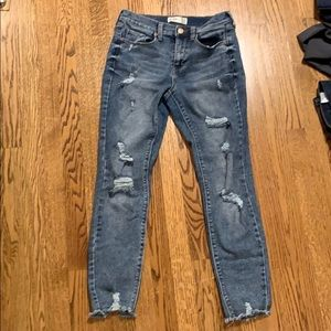 MUDD Mid Rise Vintage Skinny Jean with FLX Stretch